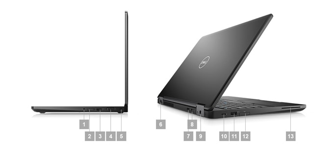 Latitude 5590 laptop - Ports & Slots