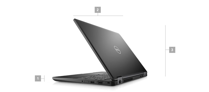 Latitude 5590 laptop - Dimensions & Weight