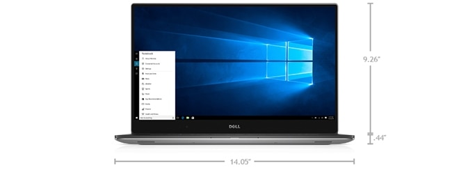 New Dell Precision 15 5000 Series (5510) - Dimensions & Weight