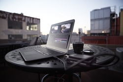 Precision M3800 on Outdoor Table