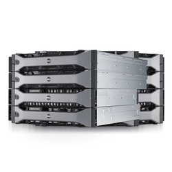 Compellent All-flash storage solution (SC220 with eMLC and SLC flash drives)