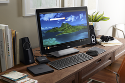 Inspiron 23 AIO Touch in Home Office