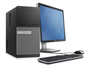 OptiPlex 7020 MT Desktop with P2414H Monitor and Peripherals