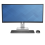 UltraSharp 34 U3415W Monitor with Peripherals