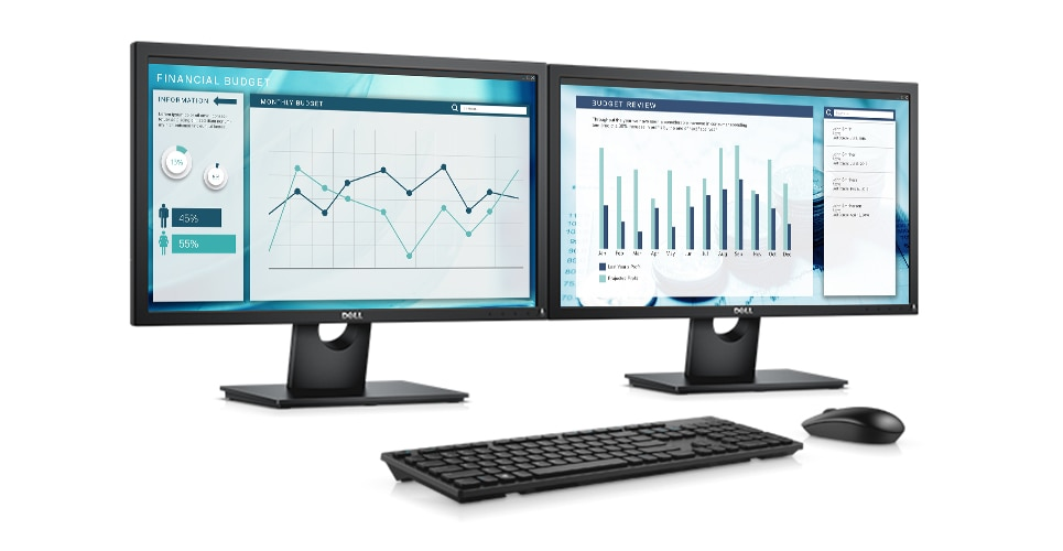 Dell E2318H Monitor - Office productivity essentials