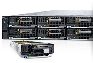 Dell PowerEdge FX-Komponenten – Die ultimative Serverdichte mit konvergenter Plattform