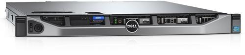 Dell PowerEdge R430 - Intel® Xeon® E5 - 2609 v4 1.7GHz, 20M Cache, 6.4GT / s QPI, 8C / 8T 8GB RDIMM