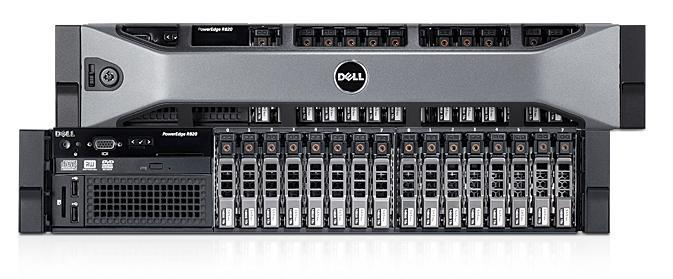 Servidor PowerEdge R820: capacidad y potencia concentradas