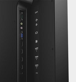 Dell C7017T Monitor - Convenience comes standard.