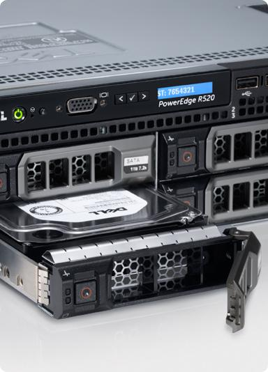 PowerEdge R520 — Flexibel computerplatform