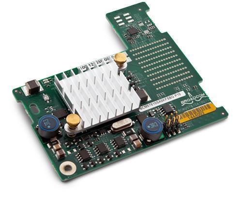 Konvergente Broadcom 57810S 10GbE-Blade-Zusatzkarte (KR) mit zwei Ports