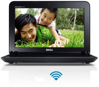 Dell Inspiron Mini 10 Netbook Computer - Maximum Connectivity