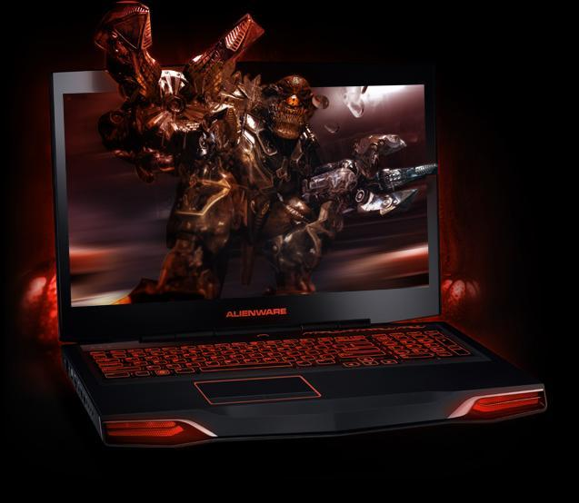 Alienware M17X with 3D Computer Graphics