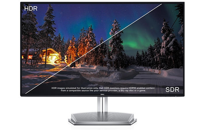 Dell S2718H Monitor – Incredible visuals with Dell HDR