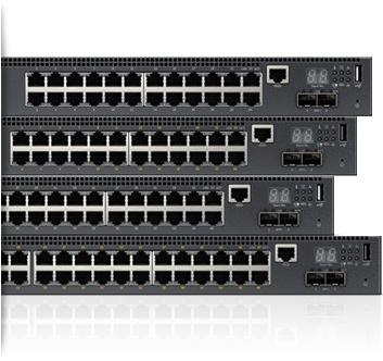 Dell Networking N2000 – 1 GbE第2层交换机