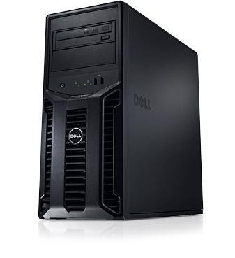 Server PowerEdge T110II–zajišťuje snadný přístup