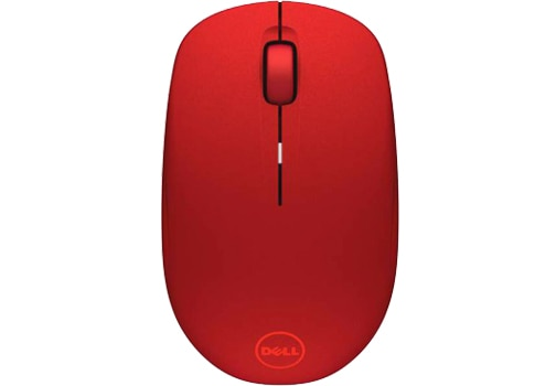 Dell wm126 wireless mouse red