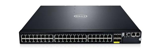 Commutateur 1/10 GbE hautes performances Dell Networking S60