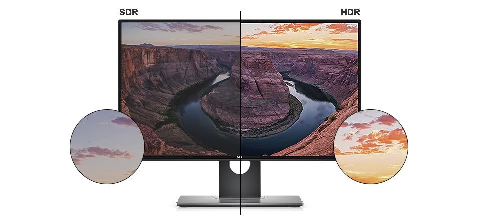 Οθόνη Dell U2718Q - Ρεαλιστική εικόνα