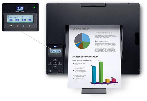 Dell C1760nw Printer - Simple to use and maintain