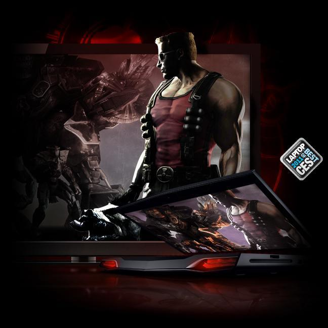 Alienware m17x with powerful graphics cards