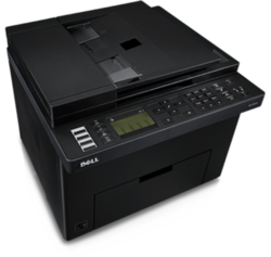 Dell 1355cnw Color Laser Printer
