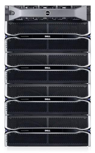 PowerVault MD3060e高密度JBOD ― 容量基于您的设计
