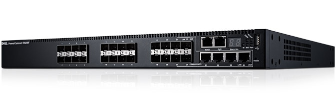 Dell Networking 7024F - High performance