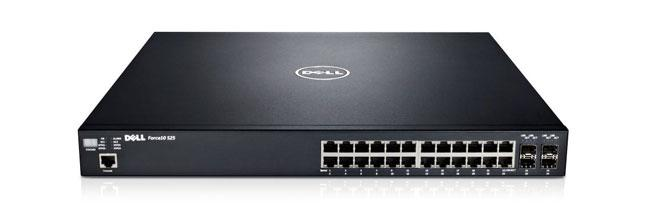 Power-over-Ethernet-switcharna Dell Networking S25V och S50V