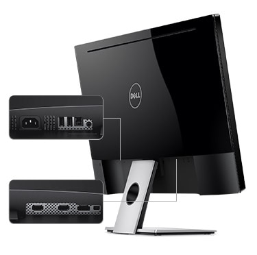 Dell S2817Q Monitor - Thoughtfully Designed