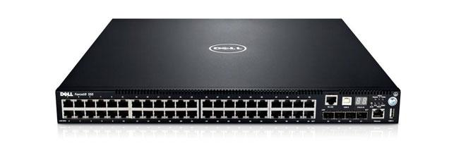 Commutateur 1/10 GbE hautes performances Dell Networking S55