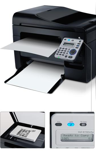 Dell B1165NFW Printer