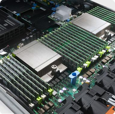 PowerEdge R620 : densité de traitement