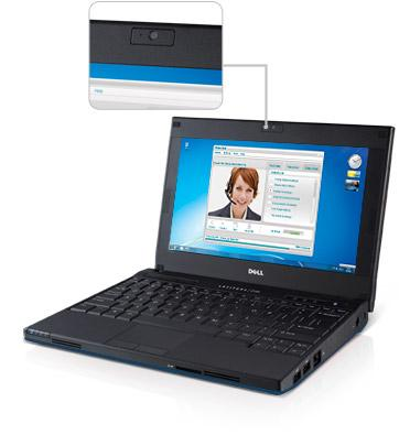 Latitude 2120 netbook — smart connectivity.