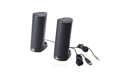 Dell AX210 USB 2.0 Powered Speaker