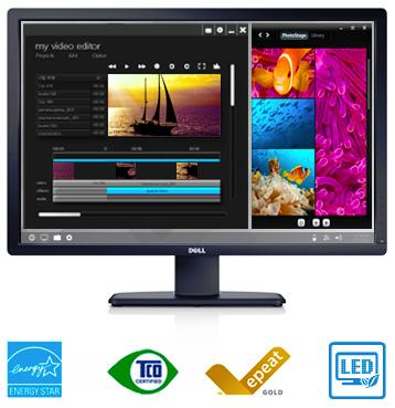 Écran Dell UltraSharp U3014 : simplifiez la gestion des images avec Dell Display Manager.