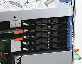 PowerEdge VRTX - Connettività di rete integrata e I/O flessibile