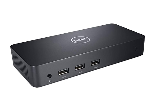 Dell Refurbished Docking Station - USB 3.0 (D3100)