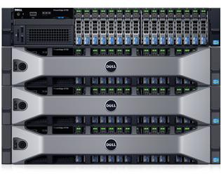 PowerEdge R730 - aplicaciones de virtualización y de nube