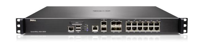 SonicWALL NSA Series — NSA 3600