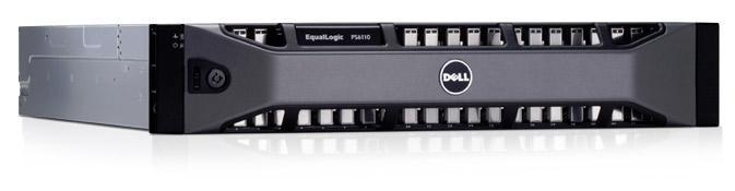 نظام التخزين طراز Equallogic PS6110x من Dell