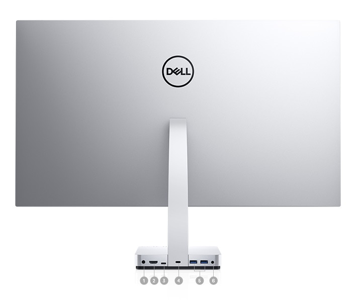 Dell S2718D Monitor  Connectivity Options
