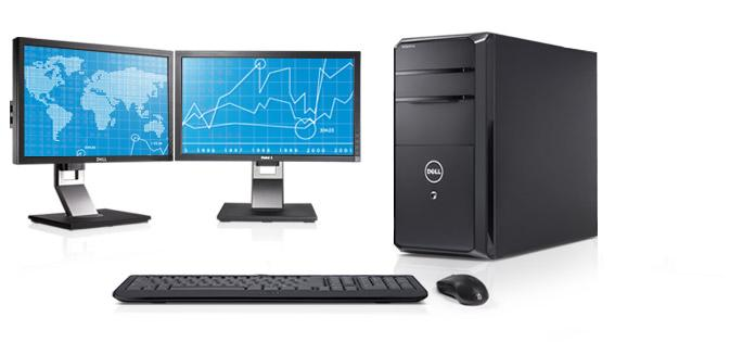 Dell Vostro 460 mini tower desktop — Power through your work.