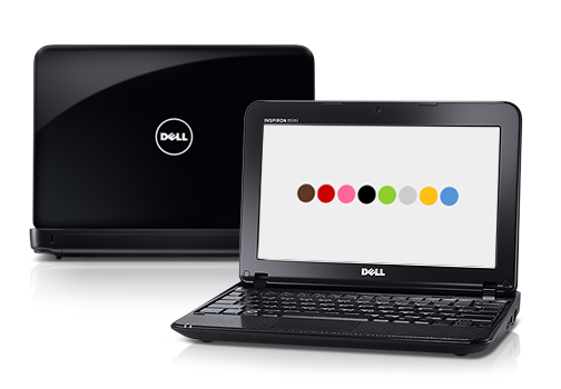 Detalles de la mini laptop Inspiron Mini 1018