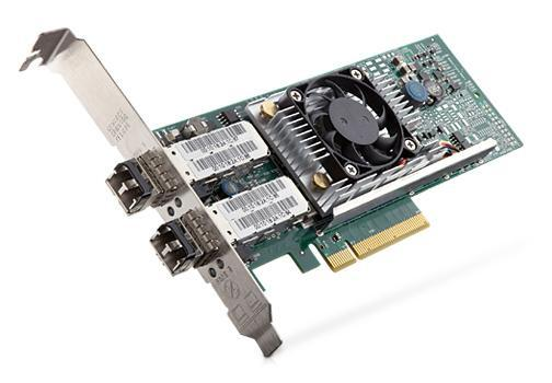 Broadcom 57810S dual-port 10GbE SFP+ converged network adapter