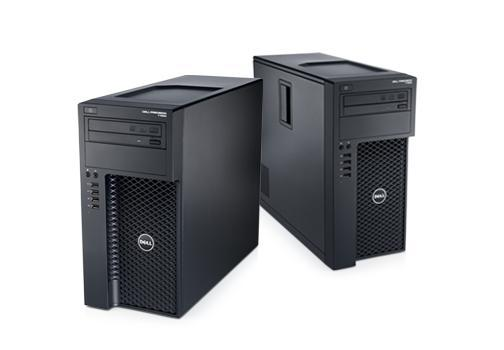 Stationära Tower-arbetsstationen Dell Precision T1650