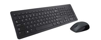 Teclado e mouse wireless KM632 da Dell