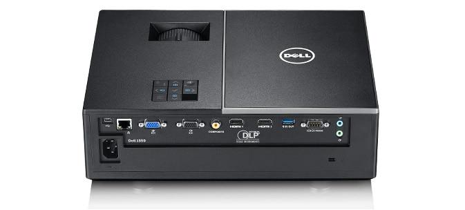 Projetor Dell 1550 - fácil de ligar e de gerir