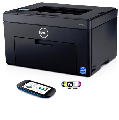Dell C1760nw Printer - Efficiency comes naturally