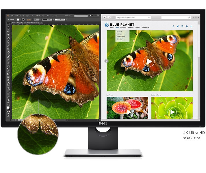 Dell S2817Q Monitor – Incredible Screen Clarity